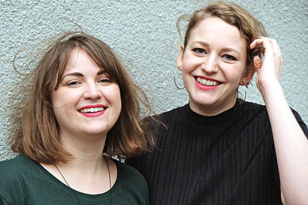 Agnes Ahlsén och Sara Hallonsten.