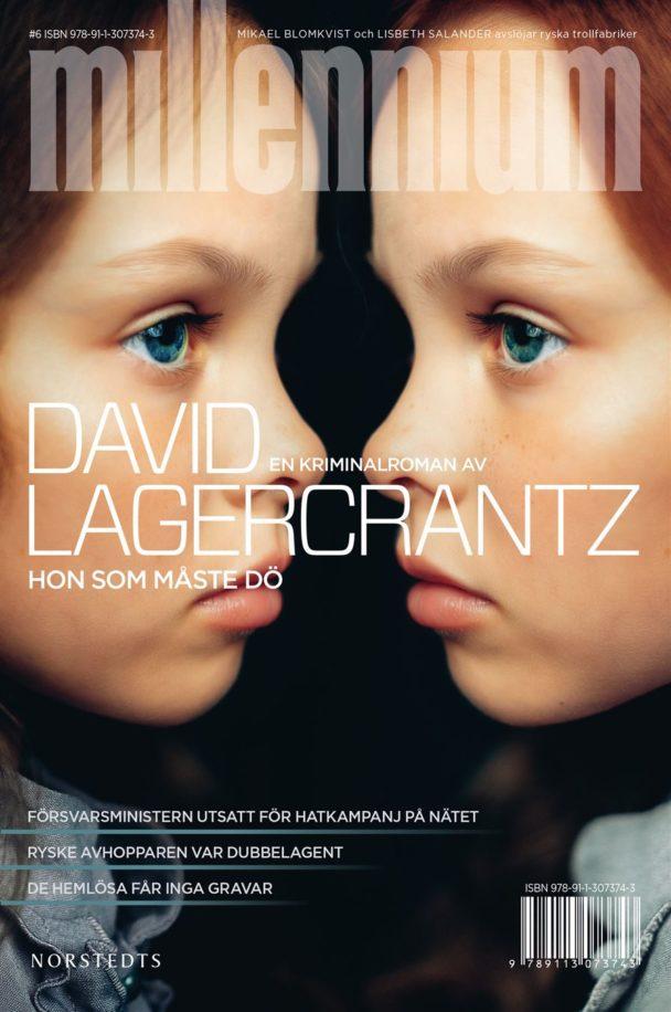 """""""Hon som måste dö"""" av David Lagercrantz."""