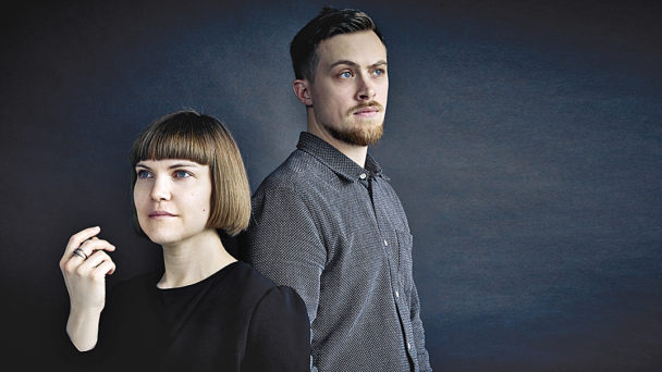 Sara Bergmark Elfgren och Emil Maxén.
