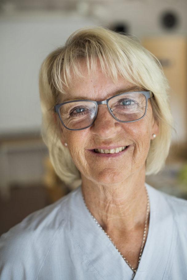 Britt-Marie Fredriksson.