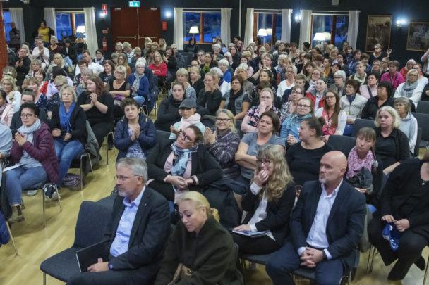 Medlemsmötet i Trelleborg.