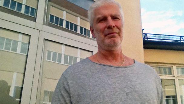 Anders Alm, kock och huvudskyddsombud.