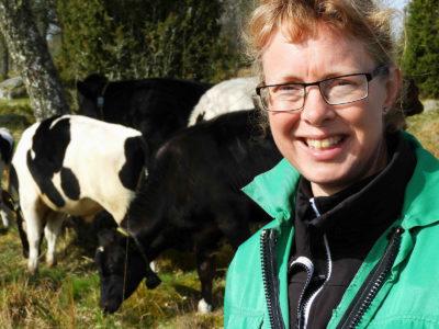 Lotta Berg, professor i husdjurens miljö och hälsa.