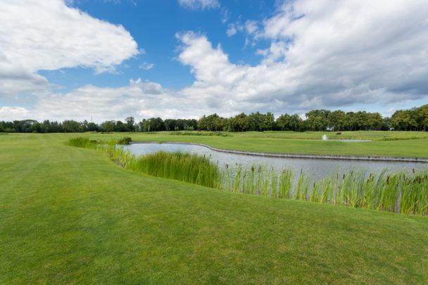 Golfbana (genrebild).