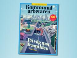 """Kommunalarbetarens e-magasin """"På väg mot framtiden""""."""