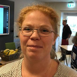 Maria Hagman, barnskötare.