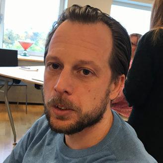 Ulf Bjerregaard, undersköterska.
