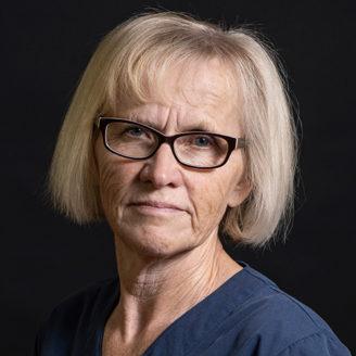 Anita Månsson, undersköterska.