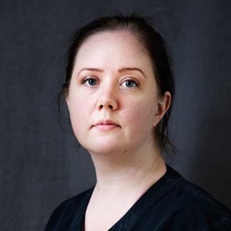 Veronica Wiegandt, undersköterska.