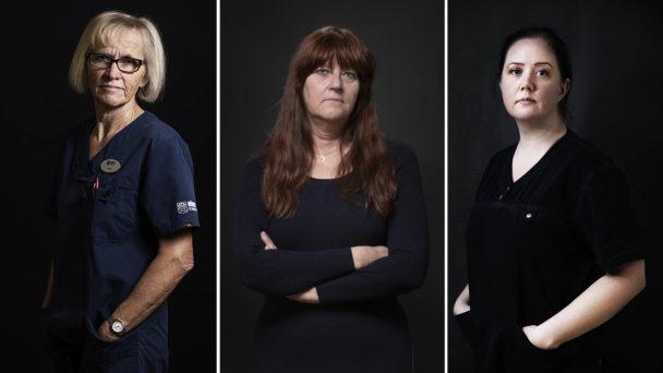 Anita Månsson, Anna-Lena Wilhelmsson och Veronica Wiegandt är tre kommunalare med olika erfarenheter från kommunernas heltidsresa.