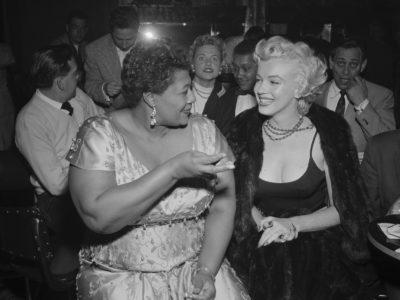 Ella Fitzgerald och Marilyn Monroe.