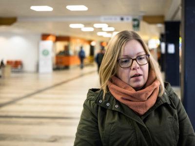 Maria Herneheim, undersköterska på Karolinska i Huddinge.
