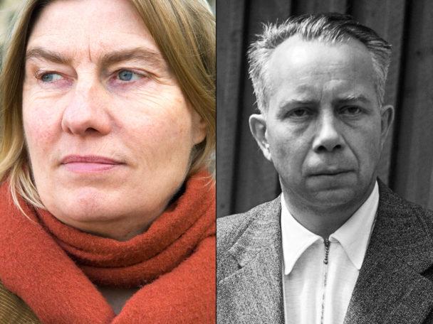 Lena Kallenberg och Ivar Lo-Johansson.