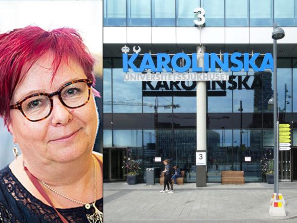Mirja Räihä, undersköterska om förtroendevald inom Kommunal.
