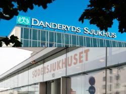 Danderyds sjukhus och Södersjukhuset.