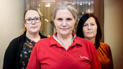 Silvana Vretovska, Jennie Anttila och Lena Sjöquist.