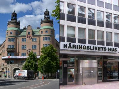 LO och Svenskt Näringsliv.