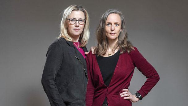 Jessica Norrbom och Maria Ahlsén.