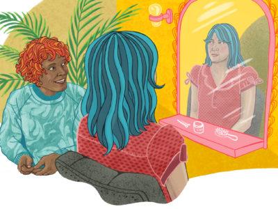 Får jag följa med en brukare till frisören på fritiden? undrar en läsare.