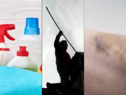 Städare, sotare och undersköterskor har alla en riskfylld arbetsmiljö.