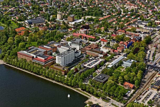 Centrallasarettet Växjö.