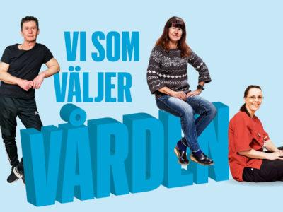 Tomas Eriksson, Kristina Hugosson och Isabella Jensen-Carlén.