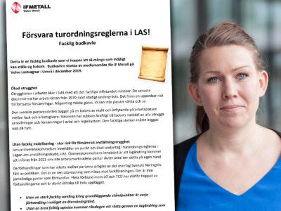 Lisa Bengtsson, förbundssekreterare.