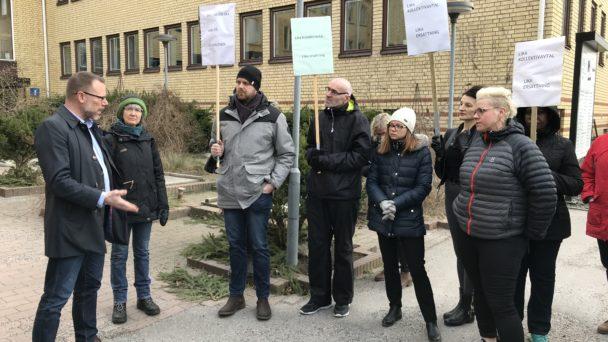 ob-protester Örebro