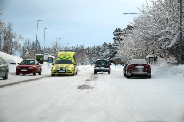 Ambulans (genrebild).