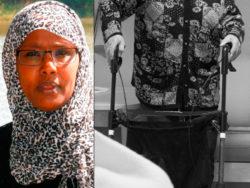 Khadija Farahs. (OBS! Bilden från äldreboendet är en genrebild.)