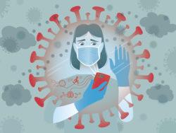 För många är coronaviruset en stor källa till oro.