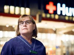 Annelie Ahlgren, undersköterska.