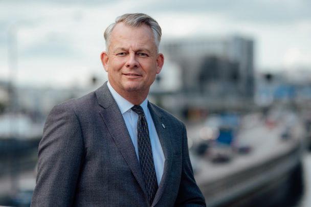 Göran Arrius, ordförande Saco.