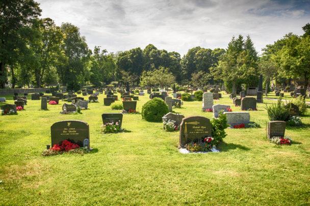 Kyrkogård.