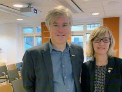 Martin Wästfelt och Camilla Frankelius.