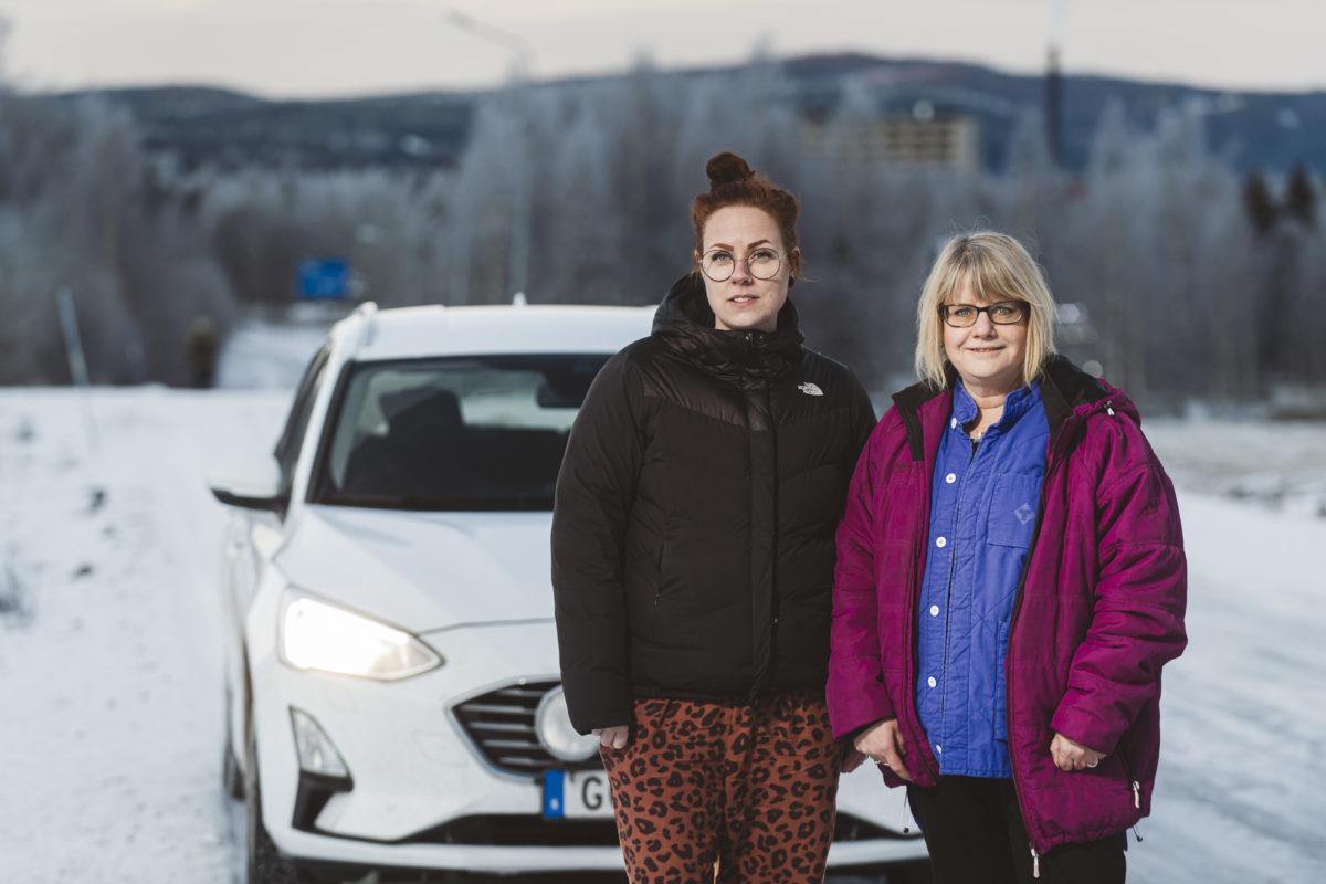 Matilda Wallinder Persson och Anneli Hägesten.