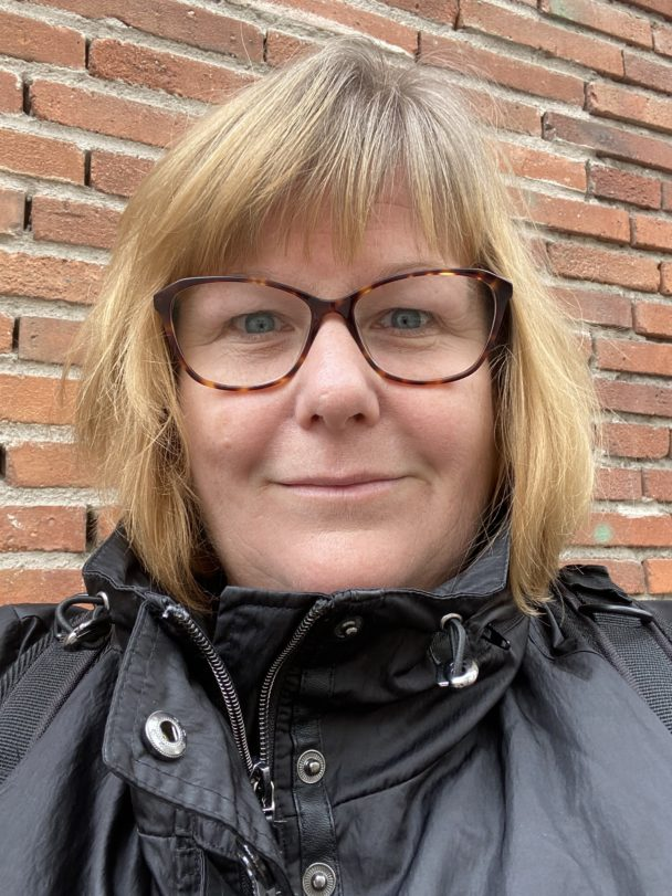 Helena Afvander, undersköterska.