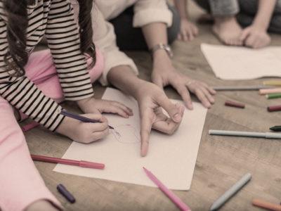 Barn på förskola (genrebild).