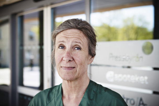 Susanne Wintell, undersköterska på Mölndals sjukhus.