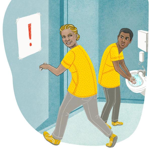 Min kollega slarvar med att tvätta händerna och att hålla avstånd, vad kan jag göra? undrar en kommunalare.