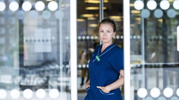 Therese Tärnqvist, iva-undersköterska.