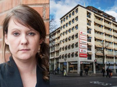 Jessica P Klemetsson vill bli avtalssekreterare.