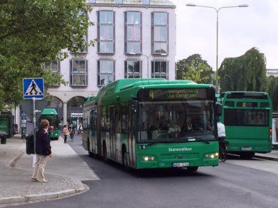 Bussar i Malmö.
