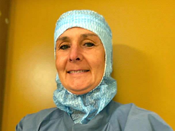 Susanne Stenbäck, undersköterska.