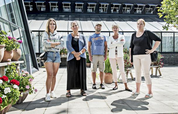 Malin Jonsson, Anne-Christine Stenbäck, Pierre Blanksvärd, Katrin Norgren och Therese Filander.