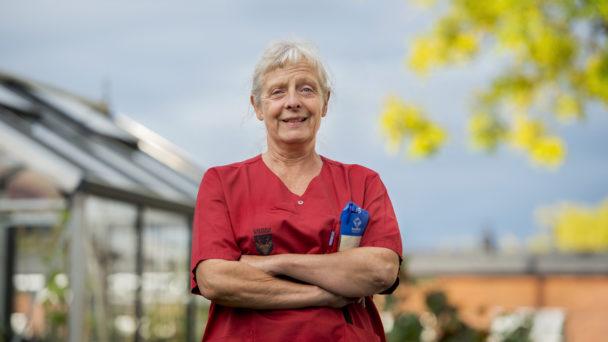 Susanne Johnsson, undersköterska och skyddsombud.