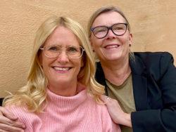 Susanne Dettervall och Annika Salomonsson.