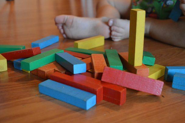 Lek i förskolan (genrebild).