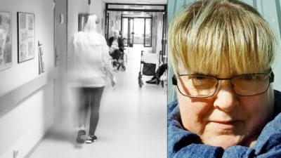 Anette Magnusson, undersköterska.