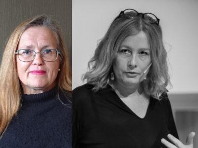 Agneta Thomasin Svensson och Åsa Linderborg.